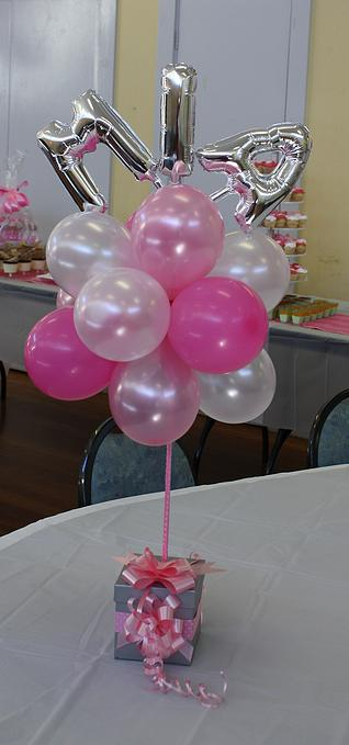 Topiary with name price for 1st birthday balloon decoration images