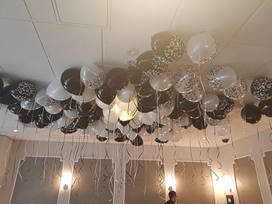 Ceiling Helium Balloons